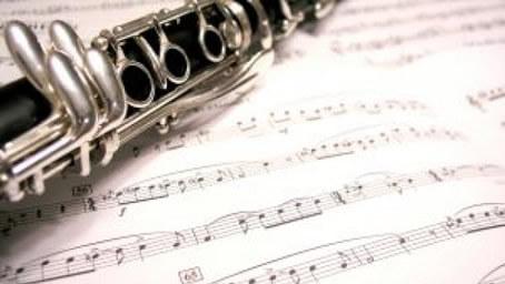 クラリネットと楽譜